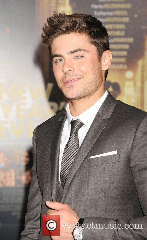 Zac Efron and Grauman's Chinese Theatre 6