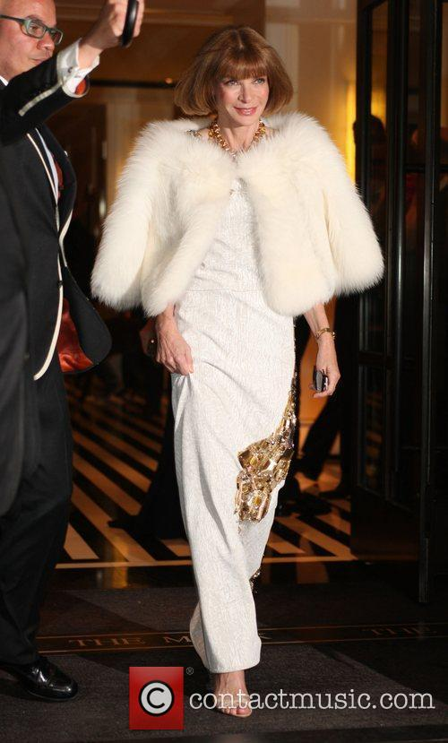 Anna Wintour leaves her hotel New York City,...