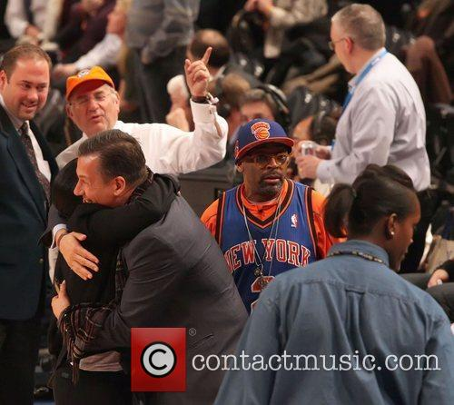 spike lee new york knicks vs sacramento 3733131