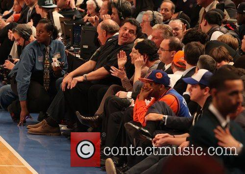 Steve Schirripa, Edie Falco, Spike Lee and Madison Square Garden 1