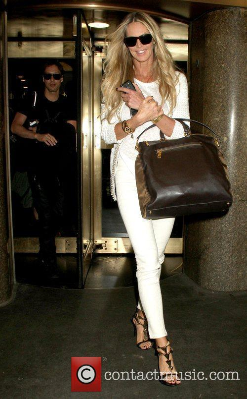 elle macpherson arrives at nbcs new york 3778318