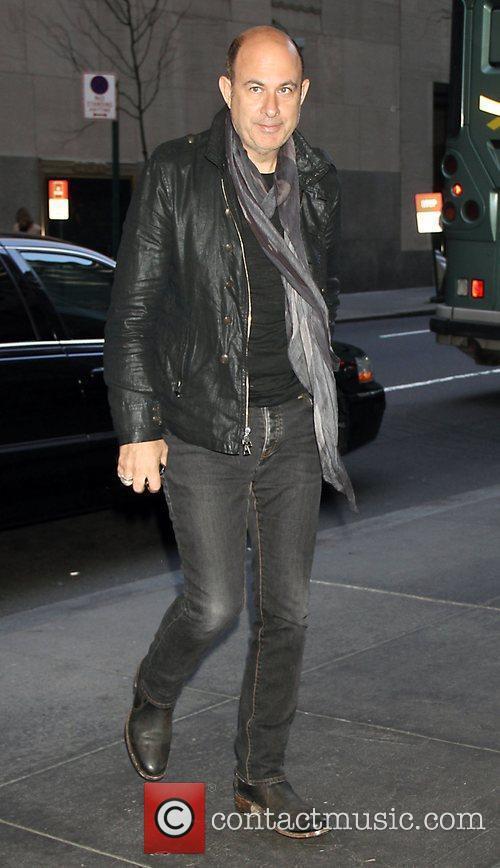John Varvatos arrives at NBC's 'New York Live'...