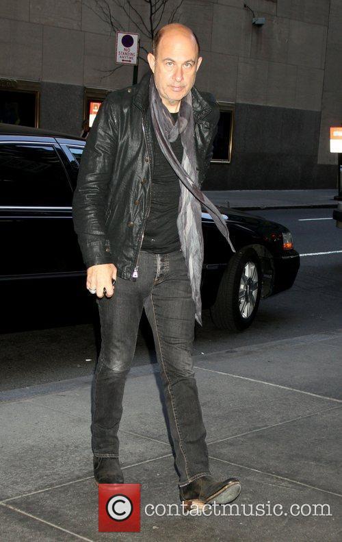 Arrives at NBC's 'New York Live' studios