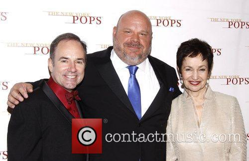 Stephen Flaherty, Kevin Chamberlin and Lynn Ahrens The...