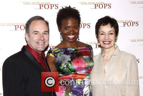 Stephen Flaherty, LaChanze and Lynn Ahrens The New...