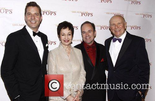 Steven Reineke, Lynn Ahrens, Stephen Flaherty and Terrence...