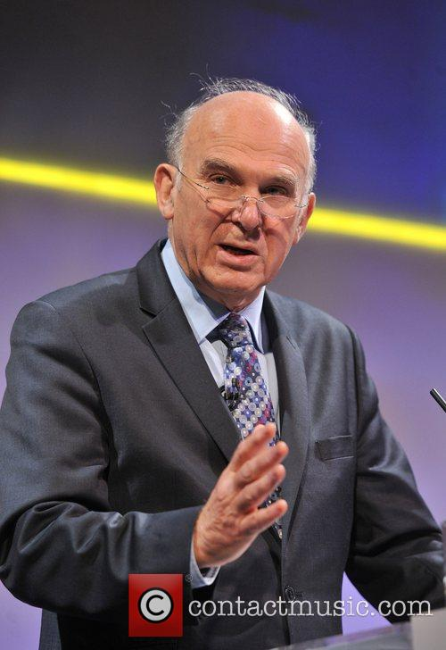 Business Secretary Vince Cable and Grosvenor House 7