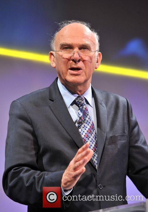 Business Secretary Vince Cable and Grosvenor House 8