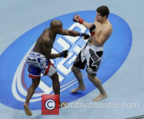 Jimy Hettes vs Marcus Brimage  UFC 152...