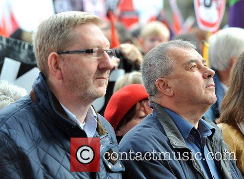 Len Mccluskey, Brendan Barber and R 1