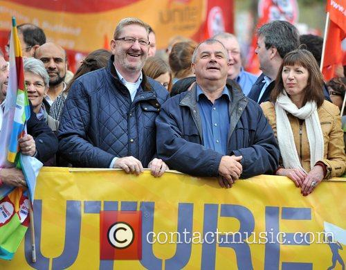 Len Mccluskey, Brendan Barber and R 9