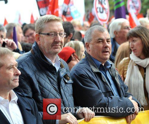 Len Mccluskey, Brendan Barber and R 3