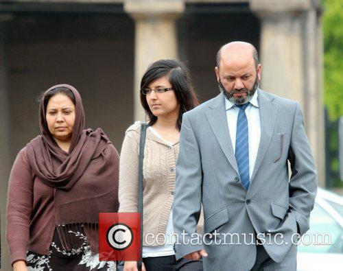 At Chester Crown Court. Iftikhar and his wife...