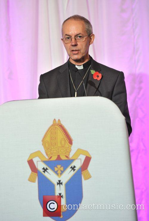 Is confirmed as the next Archbishop of Canterbury...
