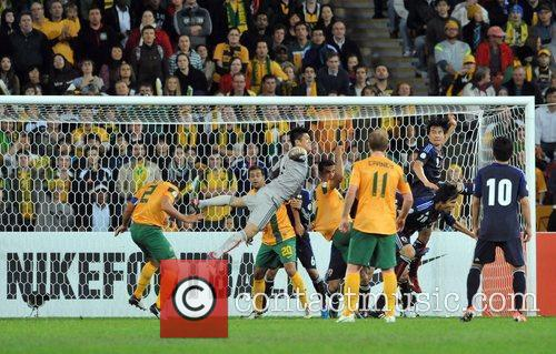 Match Action FIFA World Cup Qualifier - Australia...