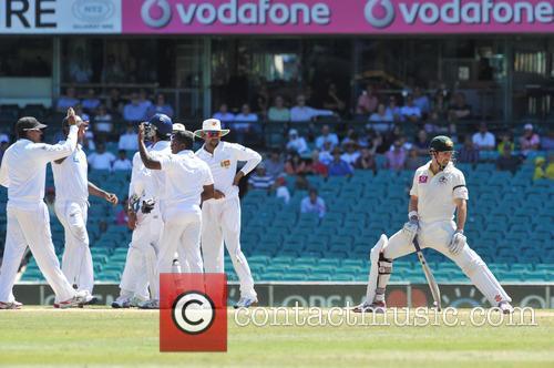 Ed Cowan 3rd Test between Australia and Sri...