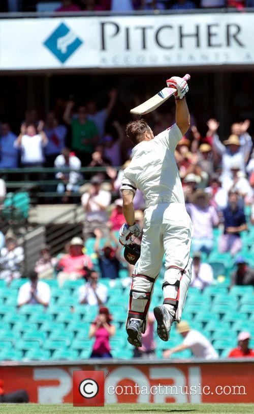 Matthew Wade 3rd Test between Australia and Sri...