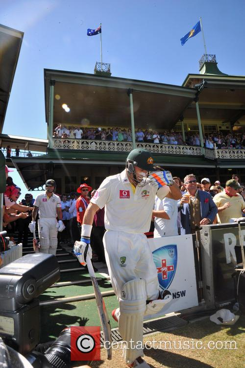 Mike Hussey 3rd Test between Australia and Sri...