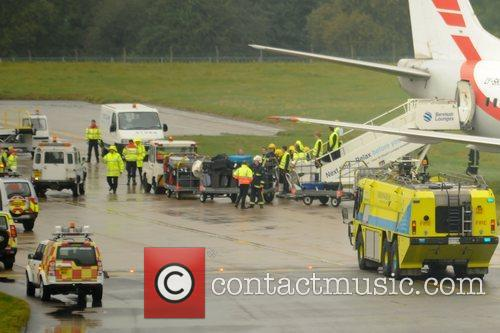 Birmingham Aiport runway has been closed after a...