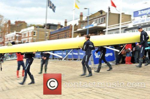 The 2012 Xchanging Oxford and Cambridge boat race...