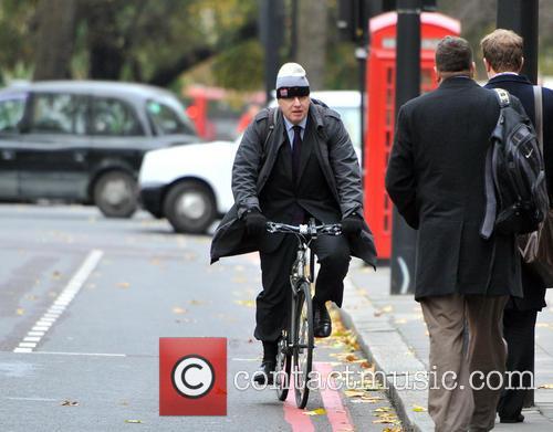 Mayor of London Boris Johnson arrives at Grosvenor...