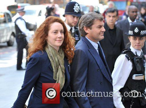 Rebekah Brooks, Charlie Brooks appear at City of...