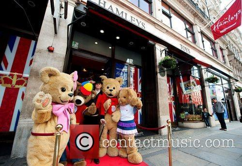 The Hamley's Build-A-Bear Workshop grand opening on Regent...