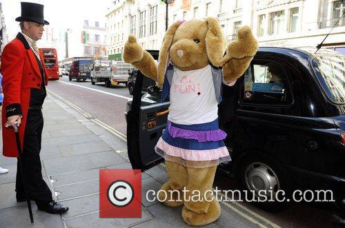 Pawlette The Hamley's Build-A-Bear Workshop grand opening on...