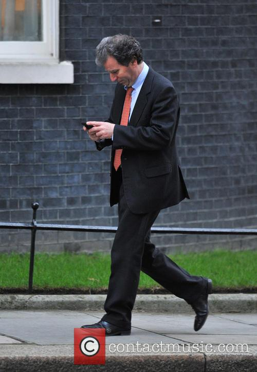 Oliver Letwin Ministers arrive for a Cabinet meeting...