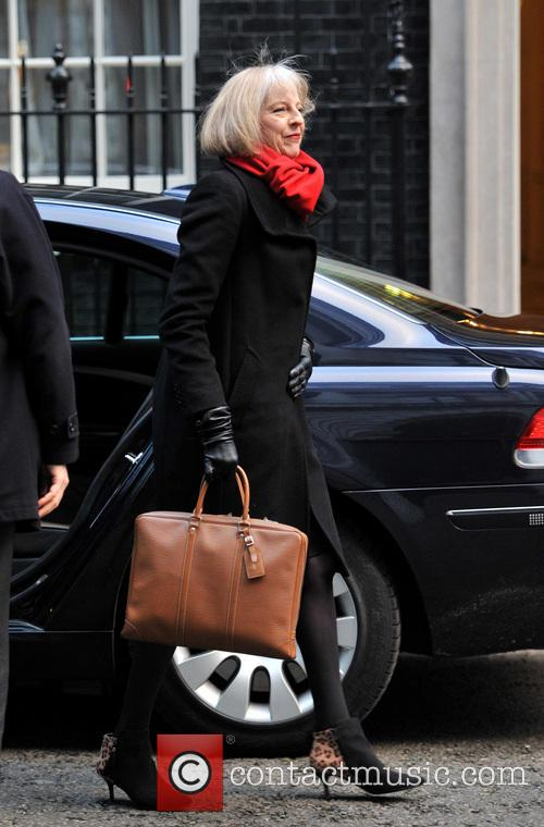 Theresa May Ministers arrive for a Cabinet meeting...