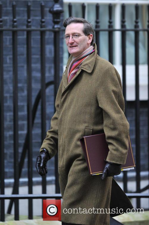Dominic Grieve Ministers arrive for a Cabinet meeting...