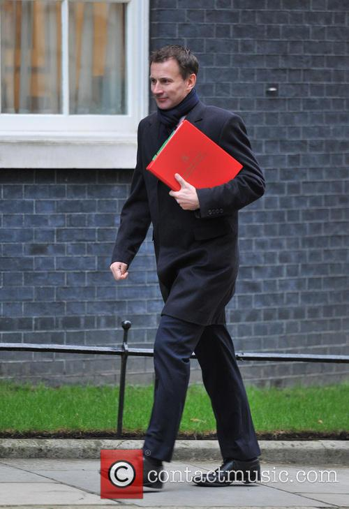 Jeremy Hunt Ministers arrive for a Cabinet meeting...