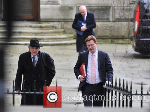 Vince Cable and Danny Alexander Ministers arrive for...
