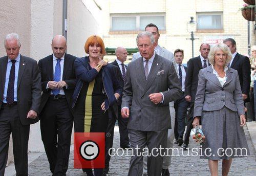 Prince Charles, Camilla, Mary Portas and Matthew's Yard 3