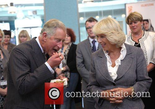 Prince Charles and Camilla, Duchess of Cornwall visit...