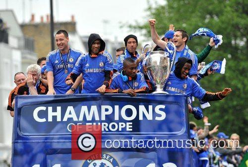 John Terry, Frank Lampard and Salomon Kalou 2