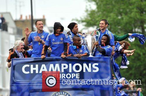 John Terry, Frank Lampard and Salomon Kalou 4