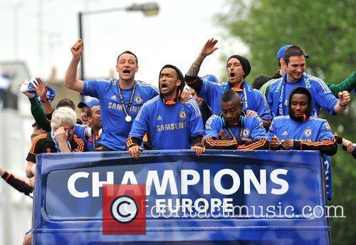 John Terry, Frank Lampard and Salomon Kalou 1