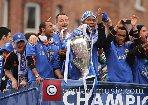 Ashley Cole, Didier Drogba and John Terry