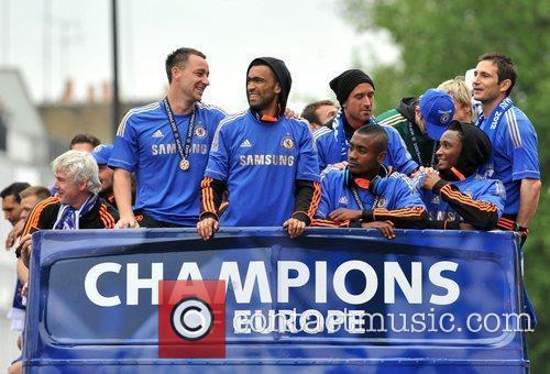 John Terry, Frank Lampard and Salomon Kalou 13