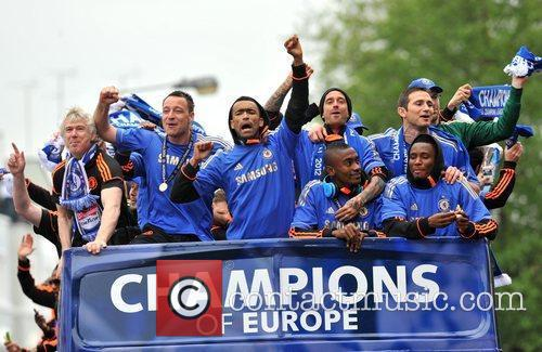 John Terry, Frank Lampard and Salomon Kalou 9