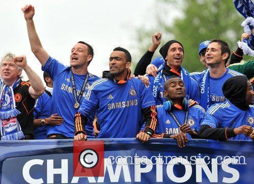 John Terry, Frank Lampard and Salomon Kalou 10
