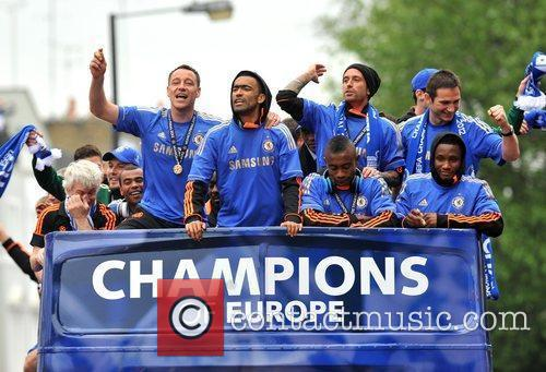 John Terry, Frank Lampard and Salomon Kalou 12