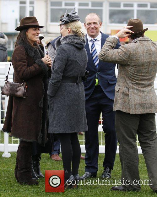 Mike Tindall and Zara Phillips 2