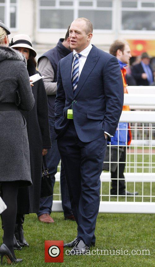 Mike Tindall at Cheltenham  Horseracing - Cheltenham...