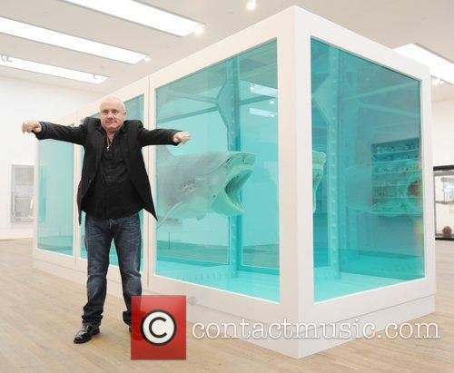 damien hirst damien hirst exhibition press view 3811531