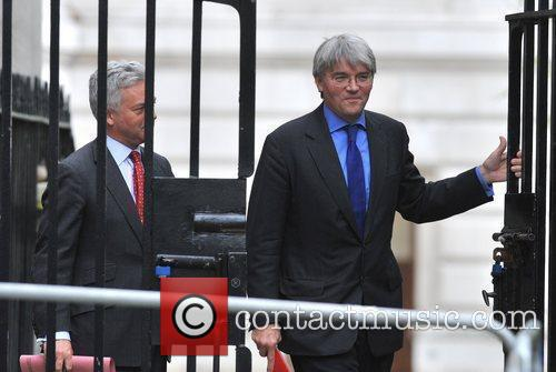 Alan Duncan (L) and Andrew Mitchell (R) Ministers...
