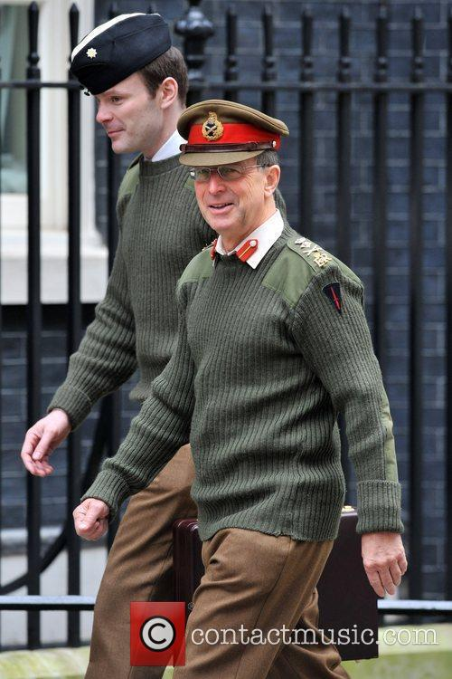 Army Chief of Staff Sir David Richards Ministers...