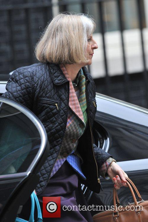 Home Secretary Theresa May Ministers arrive for a...