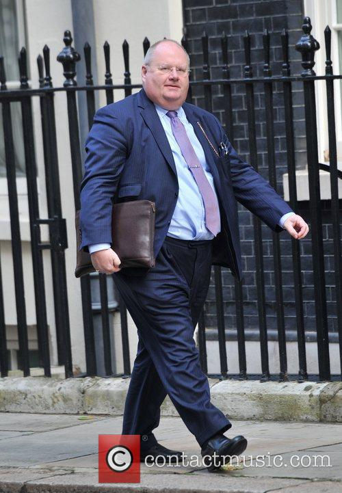 Eric Pickles Ministers arrive at 10 Downing Street...